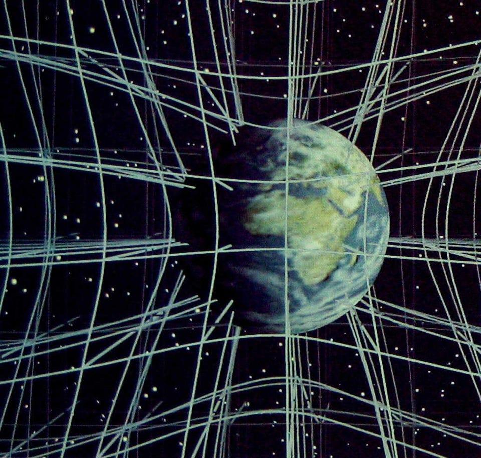 Curved Space Density Gradient